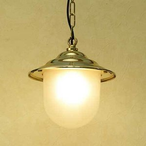 室内 照明 LED マリンライト p2130H くもりガラス インテリア 照明 ペンダントライト 天井 照明 真鍮 照明器具 おしゃれ estoah