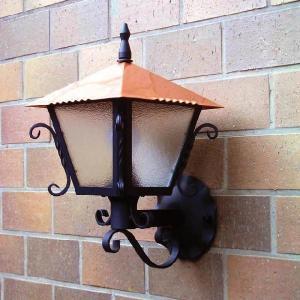レトロ照明シーラーウォールランプ アイアン外灯 門灯