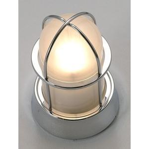 ガーデンライト 庭園灯 屋外 LED 照明 マリンライト BH1000 CR FR LE くもりガラス 門柱灯 門灯 外灯 玄関 スタンドライト 照明器具 おしゃれ E26 電球型LED 5W|estoah