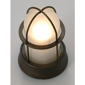 ガーデンライト 庭園灯 屋外 LED 照明 マリンライト BH1000 AN FR LE くもりガラス 門柱灯 門灯 外灯 玄関 スタンドライト 照明器具 おしゃれ E26 電球型LED 5W|estoah