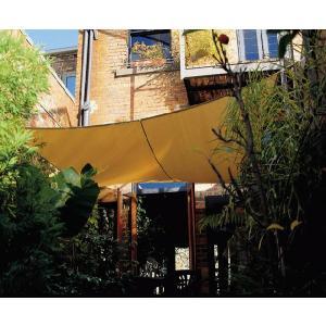 日よけ サンシェード シートガーデンパラソル シェードセイル スクエア 簡易オーニング ガーデン家具|estoah