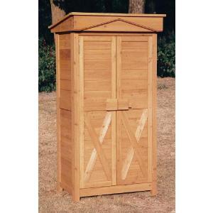 物置 木製物置 屋外用 木製物置 ガーデンストア0907 天然木材物置収納 ガーデニンググッズ ガーデンファニチャー|estoah