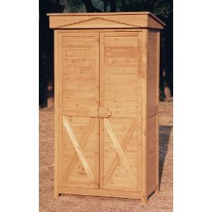 物置 木製物置 屋外用 木製物置 ガーデンストア1108 天然木材物置収納 ガーデニンググッズ ガーデンファニチャー|estoah