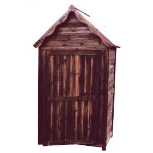 物置 木製物置 屋外用 木製物置 ガーデンストア1211 天然木材物置収納 ガーデニンググッズ ガーデンファニチャー|estoah