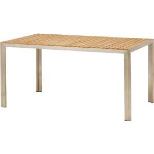 ガーデンテーブル カフェテーブルTeakStyle ライズ ダイニングテーブル チーク材 ガーデン家具 ガーデンファニチャー 組立品 estoah
