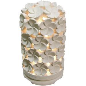 ガーデンライト 屋外 照明 庭園灯 スタンドライト プルメリアガーデンライト(丸) DS1-GL01 アジアン バリ風雑貨 外灯 照明器具 おしゃれ E17 フロスト球S35 25W|estoah