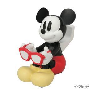 インテリア 雑貨 メガネスタンド ディズニー ミッキーマウス メガネ置き 眼鏡掛け|estoah