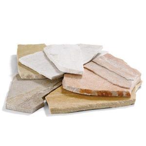 タイル 天然石 ブラジル産天然石タイルコバクォーツ/1m2 外構のアクセントとして屋外の床や壁に最適 外壁 外構工事|estoah