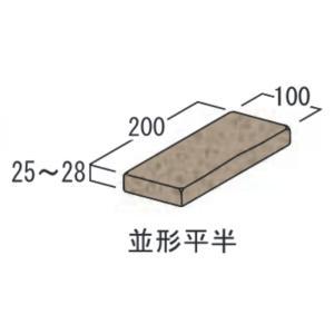 レンガ 煉瓦 ブロック 敷き 敷石 アンティークブリックス アートレリーフ ローズ レッド 並形半平 単品  diy estoah 05