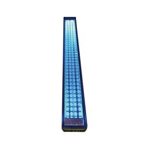 ソーラーライト 屋外 埋め込み 誘導灯 ソーラーライン ブルー LED 玄関 電気工事不要 アプローチ エントランスに優しい灯り。diy estoah