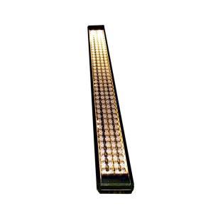 ソーラーライト 屋外 埋め込み 誘導灯 ソーラーライン アンバー LED 玄関 電気工事不要 アプローチ エントランスに優しい灯り。diy estoah