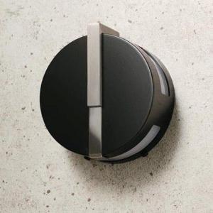 LED仕様 屋外用照明 ゲートランプ 門灯 円型 【ブラック】
