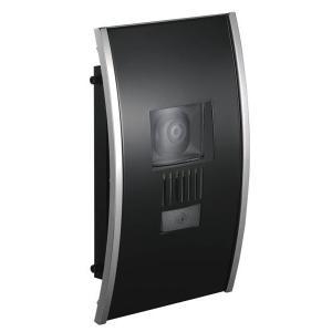 インターホンカバー ステンレス インターフォンカバー アーチ   ブラック  装飾 エクステリア 外構工事 リフォーム|estoah