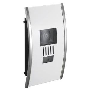 インターホンカバー ステンレス インターフォンカバー アーチ   ホワイト  装飾 エクステリア 外構工事 リフォーム|estoah