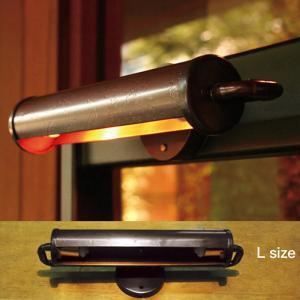 玄関照明 玄関 照明 屋外 表札灯 外灯 スタンドライト・Lサイズ SR1-L-L 銅製 アンティーク風 門灯 門柱灯 照明器具 おしゃれ E17 スペース球 100V 20W|estoah