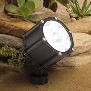 ローボルト ガーデンライト 庭園灯 12V LED スポット 6LED (狭角 中角 広角)スポットライト 照明 屋外 看板 演出照明 外灯 電球色 8.5W|estoah