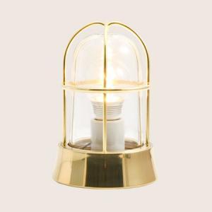 ガーデンライト LED 庭園灯 屋外 照明 マリンライト BH1000 CL クリアガラス 門柱灯 門灯 外灯 玄関 スタンドライト 照明器具 おしゃれ E26 5W LEDランプ|estoah