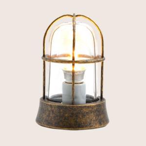 ガーデンライト LED 庭園灯 屋外 照明 マリンライト BH1000 AN CL LE クリアガラス 門柱灯 門灯 外灯 玄関 スタンドライト 照明器具 おしゃれ E26 5W LEDランプ|estoah