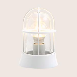 ガーデンライト LED 庭園灯 屋外 照明 マリンライト BH1000 WH CL LE クリアガラス 門柱灯 門灯 外灯 玄関 スタンドライト 照明器具 おしゃれ E26 5W LEDランプ|estoah