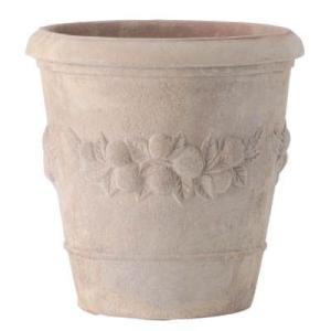 プランター 植木鉢 テラコッタ鉢 アンティーク風植木鉢モンテガロアンティコ25×25cm ガーデニング園芸用品|estoah