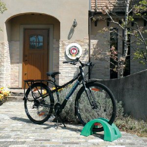 自転車スタンド 1台用 樹脂製 サイクルポジション 自転車置き場 自転車|estoah|02