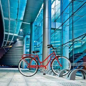 自転車スタンド 1台用 樹脂製 サイクルポジション 自転車置き場 自転車|estoah|03