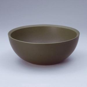 洗面 洗面ボール 洗面ボウル 手洗い鉢 洗面台 陶器 洗面 ボール ボウル よもぎ緑 置き型直径270ミリ|estoah