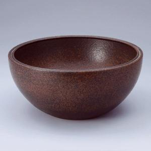 洗面 洗面ボール 洗面ボウル 手洗い鉢 洗面台 陶器 洗面 ボール ボウル コゲ窯肌 置き型直径300ミリ|estoah