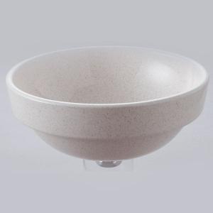 洗面 洗面ボール 洗面ボウル 手洗い鉢 洗面台 陶器 洗面 ボール ボウル かすみ斑点 半埋型直径270ミリ|estoah