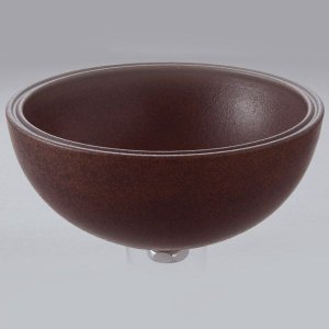 洗面 洗面ボール 洗面ボウル 手洗い鉢 洗面台 陶器 洗面 ボール ボウル コゲ窯肌 置き型直径270ミリ|estoah