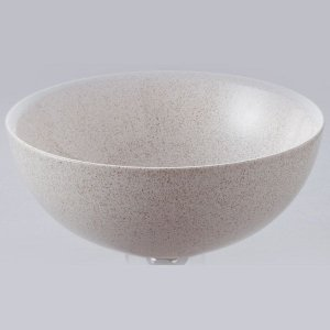 洗面 洗面ボール 洗面ボウル 手洗い鉢 洗面台 陶器 洗面 ボール ボウル かすみ斑点 置き型直径270ミリ|estoah