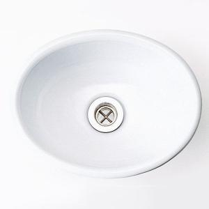 洗面 洗面ボール 洗面ボウル 手洗い鉢 洗面台 陶器 洗面 ボール ボウル ブランカ 手洗鉢 Sオーバル(排水金具なし) |estoah