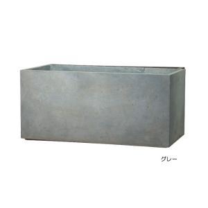 プランター 植木鉢 大型 長方形植木鉢 ファイバープランター ラムダ 100×45×45cm ガーデニング 園芸用品|estoah|03