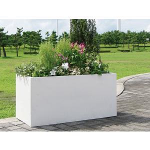 プランター 植木鉢 大型 長方形植木鉢 ファイバープランター ラムダ 100×45×45cm ガーデニング 園芸用品|estoah|04