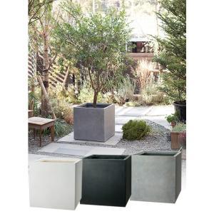 プランター 植木鉢 大型 ファイバープランター ベータ 55×55×55cm  ガーデニング 園芸用品|estoah