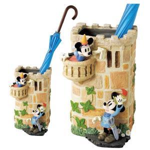 傘立て かさ立て ディズニー ミッキーの巨人退治  受け皿付き  ガーデンニング雑貨 estoah