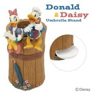 傘立て ディズニー new ドナルドダックとデイジー 受け皿付き  ガーデンニング雑貨 estoah