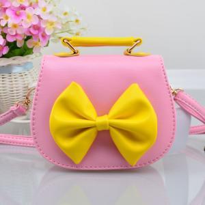 子どもバッグ 子供 可愛いリボンショルダー ポシェットりぼんがポイント 子供用バッグ|esunshop