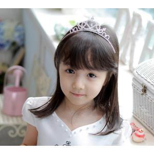 子供用 ティアラ シルバーティアラ フラワーガール 結婚式 ピアノ発表会 フォーマル ヘアアクセサリー 髪飾り|esunshop