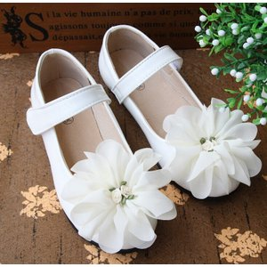 子供靴 シューズ フォーマル キッズ 女の子 ジュニア 靴 ピアノ発表会 結婚式 七五三 ホワイト/ピンク 16-22cm esunshop