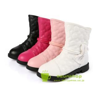 子供靴 冬靴 キッズシューズ 子供 ロングブーツ 防寒ブーツ 防寒靴 女の子 ベビシューズ 秋冬 長靴 歩き安い esunshop