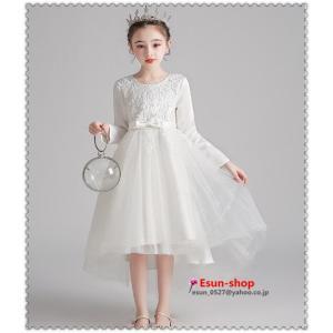 韓国キッズフォーマル 子供服 子供 ワンピース長袖 女の子 可愛いスタイル ワンピース入園 入学 フォーマル ドレス 韓国子供服 こども服|esunshop