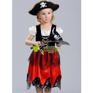 ハロウィン halloween衣装 仮装 子供用 海賊服 パイレーツ  キッズ ハロウィーン コスチューム コスプレ パーティー イベント|esunshop