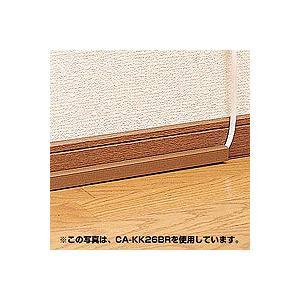 ケーブルカバー本体 角型 ホワイト 強力両面テープ付 壁面用 CA-KK17サンワサプライ ネコポス非対応|esupply|02