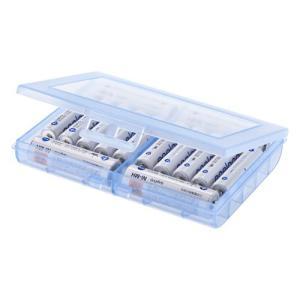 乾電池ケース 単三&単四対応 ブルー  DG-BT5BL サンワサプライ ネコポス対応 esupply