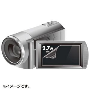 デジカメ用液晶保護フィルム(2.7型・反射防止)  DG-LC27WDV サンワサプライ