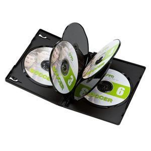 DVDトールケース(6枚収納・10枚パック・ブラック・14mm) DVD-TN6-10BK サンワサプライ