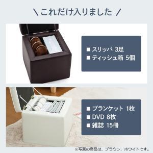 収納スツール ボックススツール オットマン ブラック EED-SNCBOX1BK ネコポス非対応|esupply|05