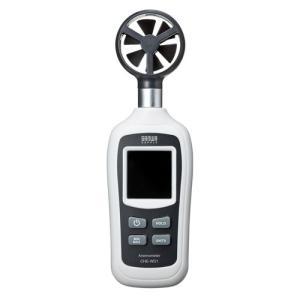訳あり新品 デジタル風速計 小型 学校 会社 家庭 気温測定 バックライト 箱にキズ、汚れあり CH...