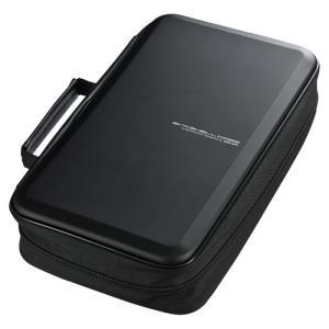 訳あり新品 ブルーレイディスク収納セミハードケース 104枚収納 ブラック 箱にキズ、汚れあり FCD-WLBD104BK サンワサプライ